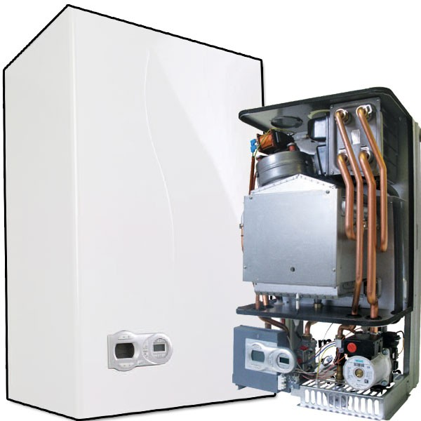 Different types of gas central heating boilers